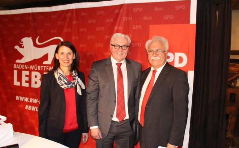 Bundesaußenminister Frank-Walter Steinmeier besucht Waldshut